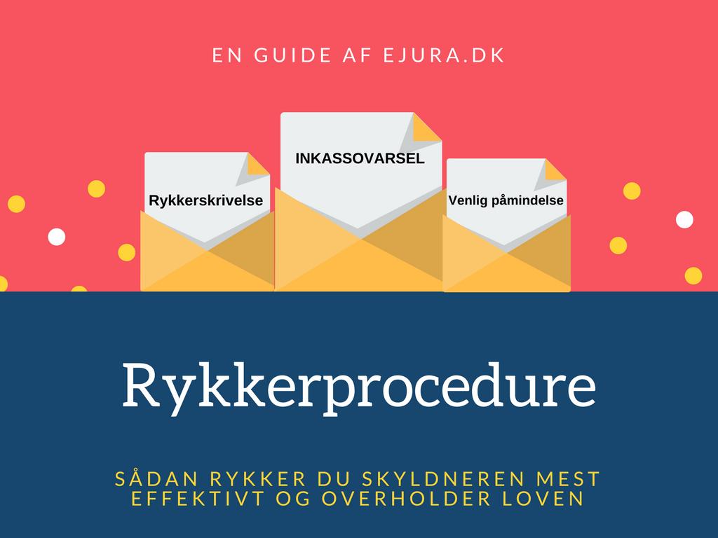 En guide til rykkerprocedure ved debitorer