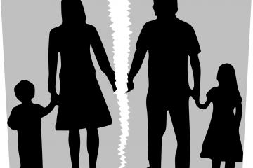 Skilsmisse og samvær