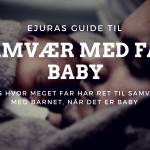 Samvær med far baby