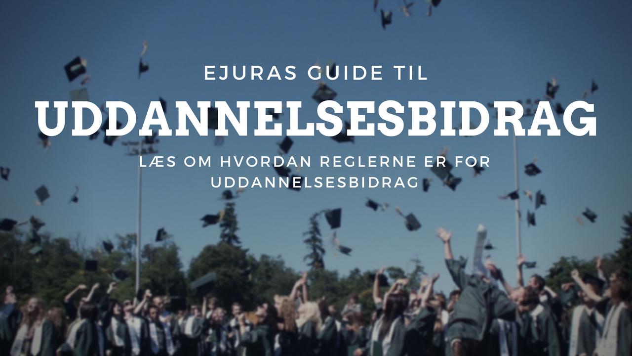 Uddannelsesbidrag guide
