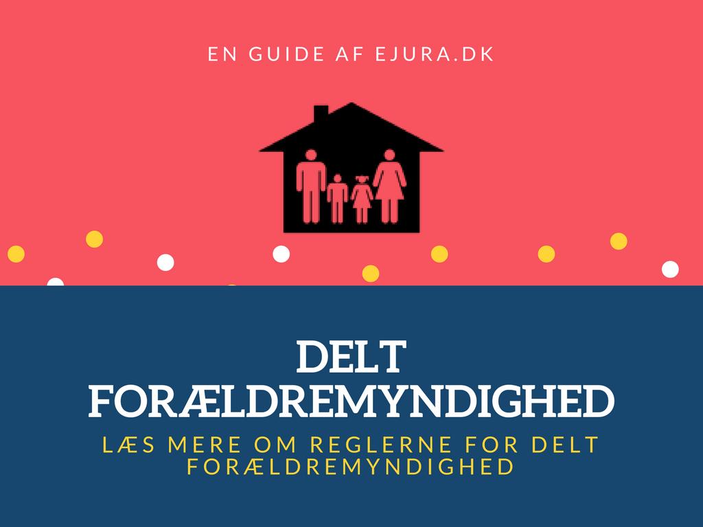 Delt forældremyndighed guide