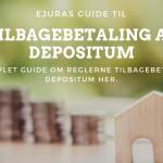 Tilbagebetaling af depositum