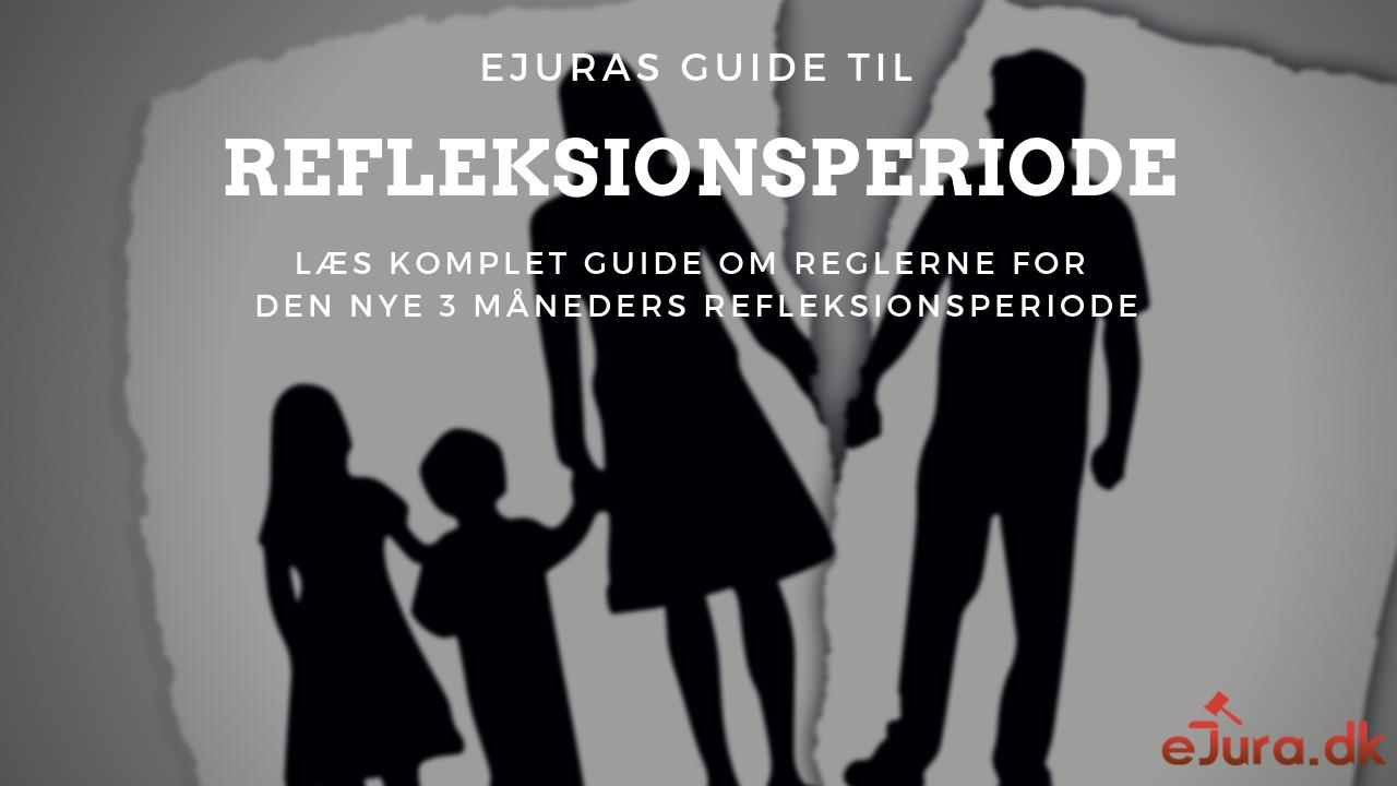 Refleksionsperiode guide