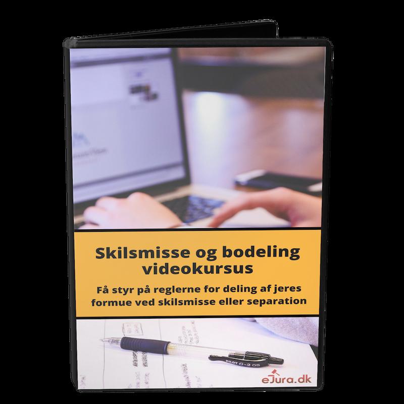 Skilsmisse og bodeling videokursus eJura.dk