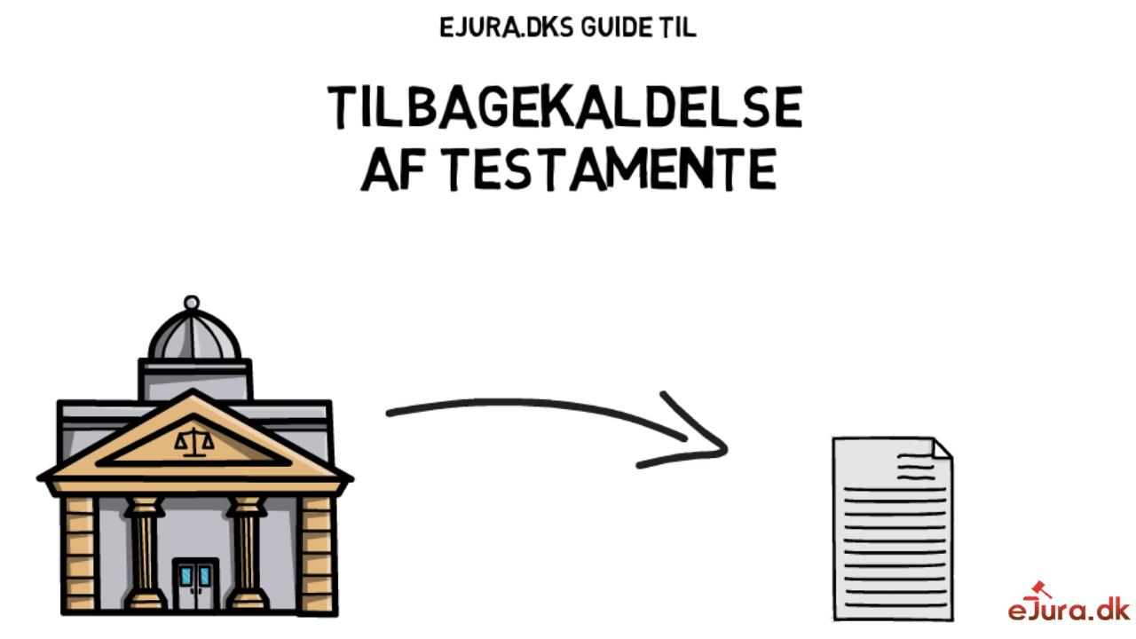 Tilbagekaldelse af testamente eJura.dk
