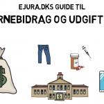 Børnebidrag satser og regler guide af eJura.dk