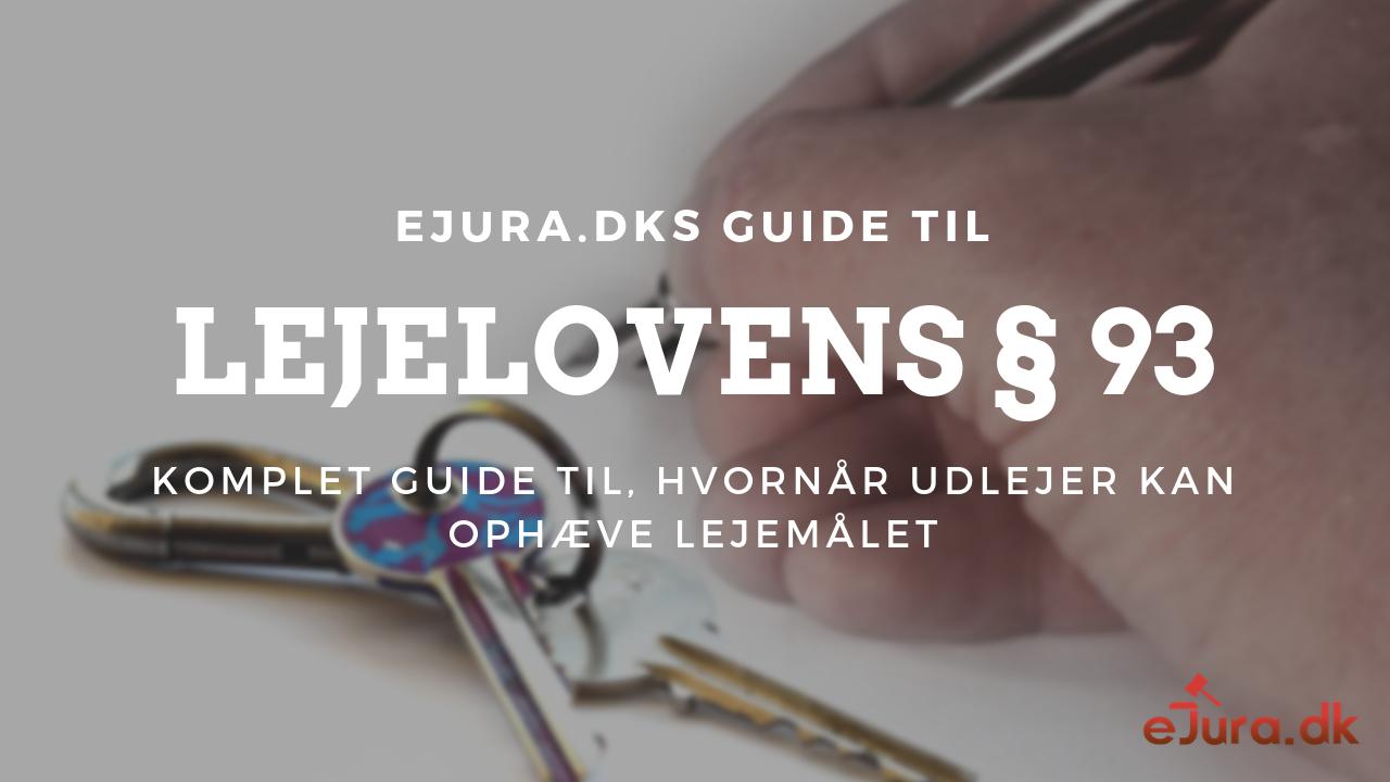lejelovens § 93
