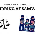 Ændring af samvær eJura.dk