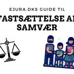 Fastsættelse af samvær eJura.dk